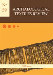 Archaeological Textiles Review No. 59, 2017