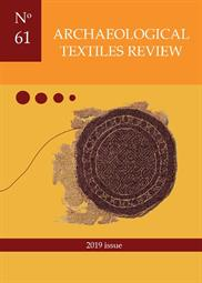 Archaeological Textiles Review No. 61, 2019